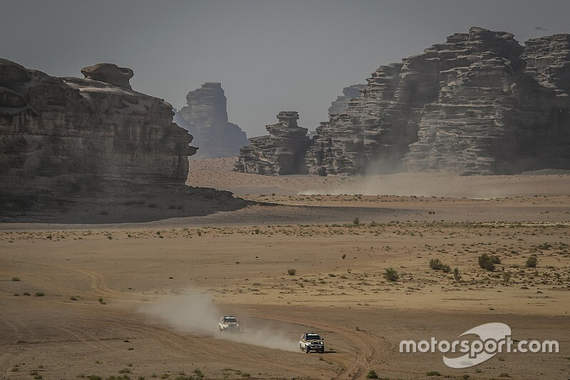 Así se diseña el nuevo Dakar en Arabia Saudita