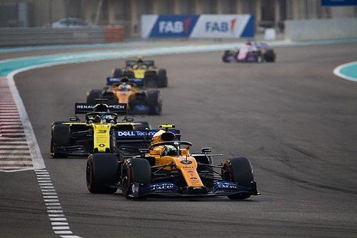 """F1-coureurs zijn voor DRS: """"Abu Dhabi toonde waarom het nodig is"""""""