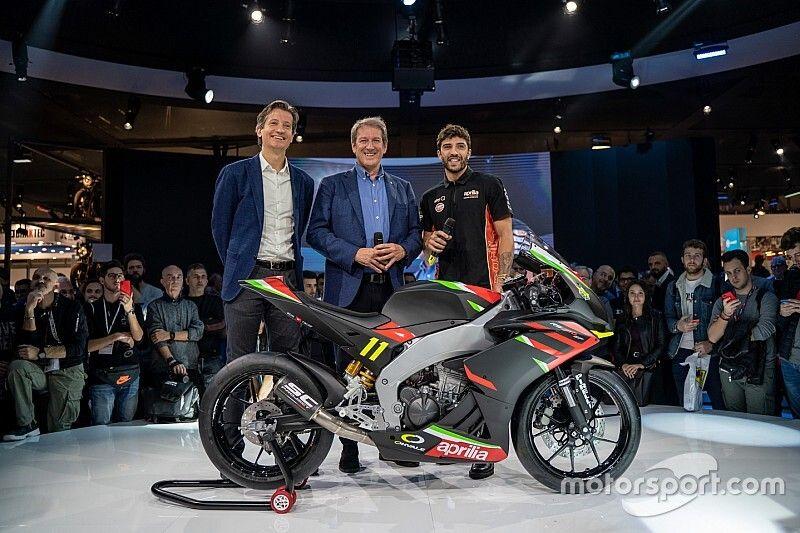Aprilia RS 250 Sport Production: eccola dal vivo