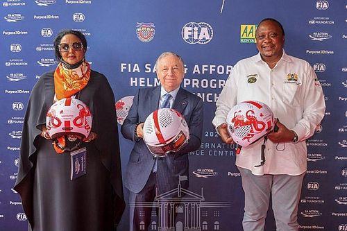 FIA promotes Safe and Affordable Helmet Programme in Africa