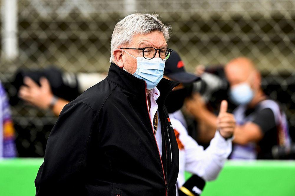 """برون: الفورمولا واحد """"لن تفرض"""" سباقات التصفيات القصيرة مستقبلاً"""