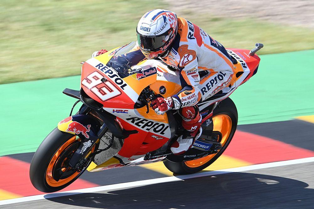 Marquez opent op Sachsenring met snelste tijd in VT1