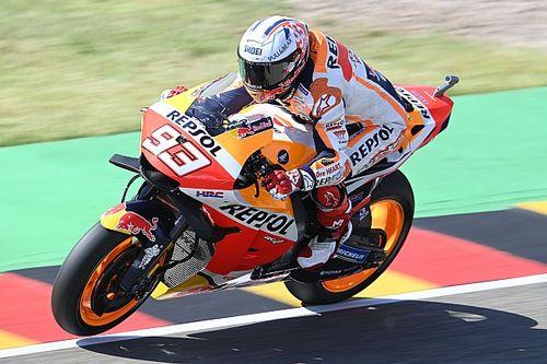 MotoGP Almanya 1. antrenman: Marquez lider, Quartararo ikinci