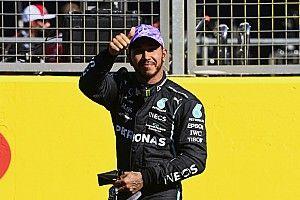 """Hamilton: """"Sprint yarışı, ilk tur dışında heyecanlı değildi"""""""
