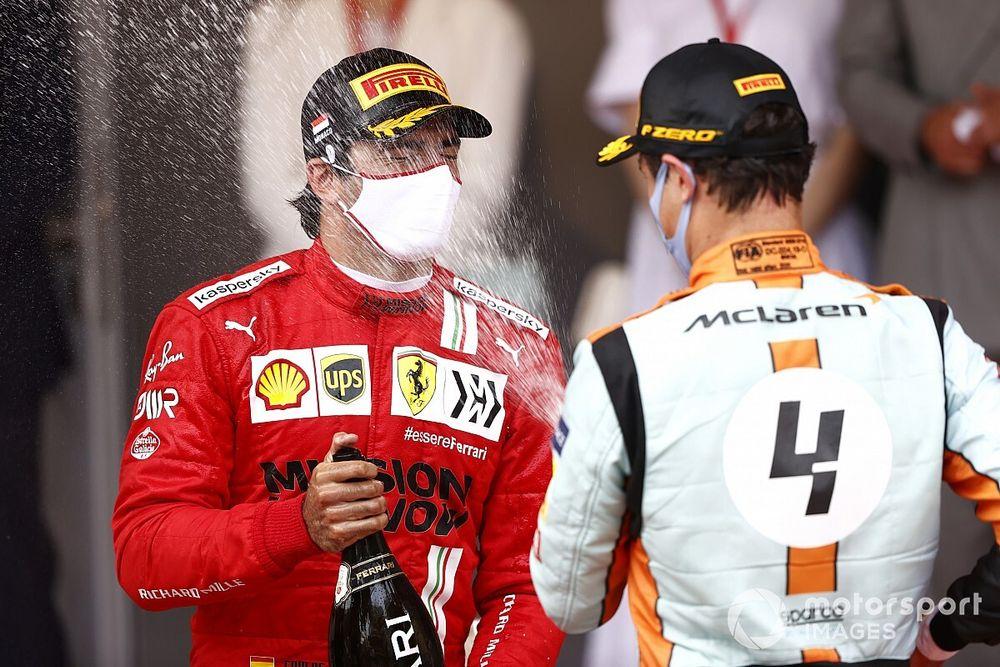 """Sainz, Norris et Leclerc : des """"Champions du monde en puissance"""""""