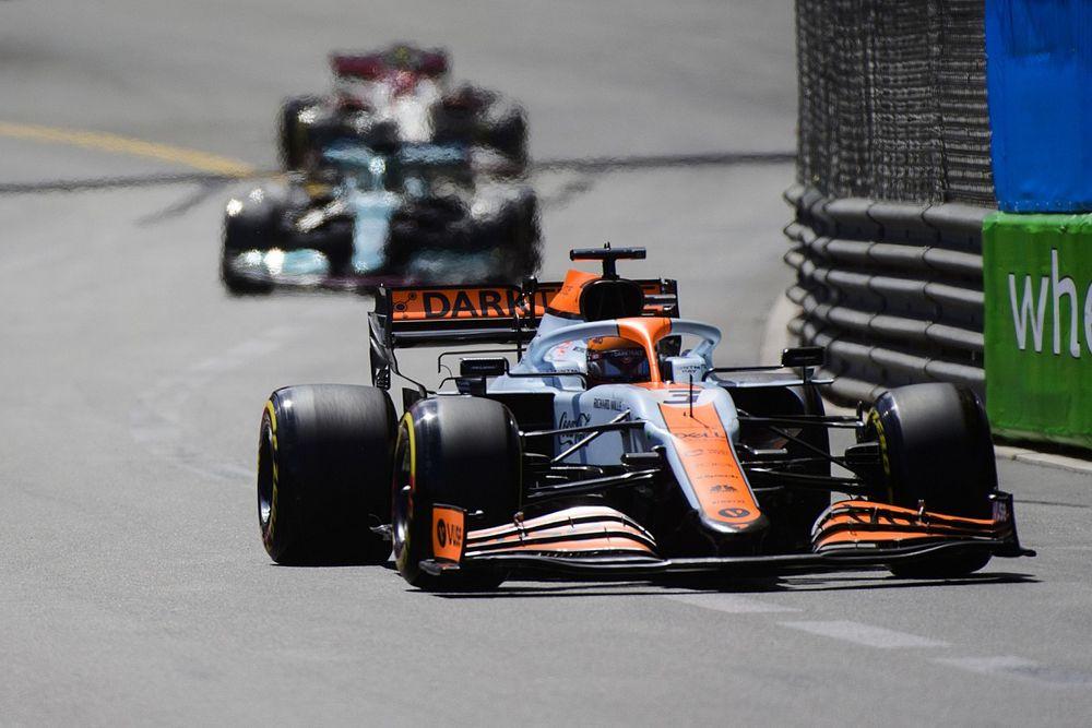 La livrée Gulf de McLaren devrait ne plus être utilisée
