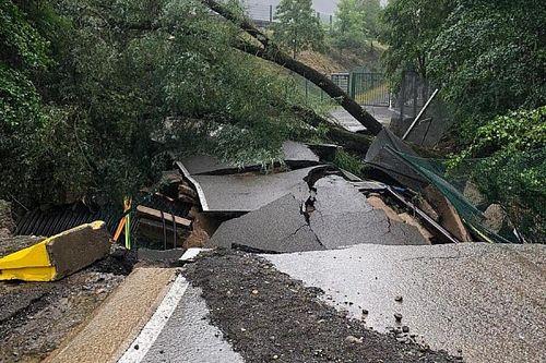 Nuevos daños en el Circuito de Spa por las inundaciones