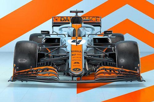 فريق مكلارين يعتمد ألوانًا جديدة على سيارته في جائزة موناكو الكبرى