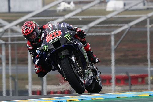 "Vinales: Quartararo had more ""courage"" in wet Le Mans MotoGP"