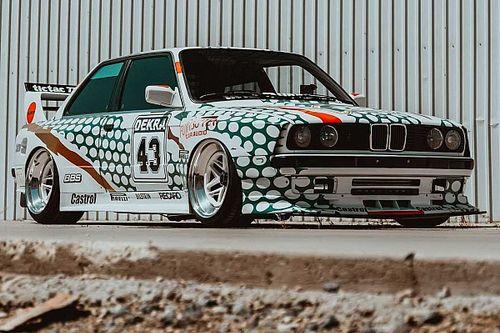 BMW E30 M3 gets wild makeover with retro TicTac DTM livery