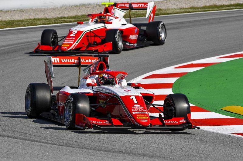 Hauger logra la pole en el arranque de la F3 en Barcelona