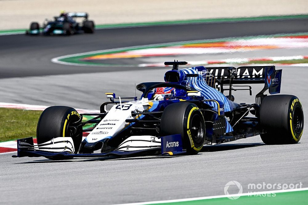Williams: F1 car's peaky downforce trait was not intended