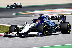 Williams: Peaky downforce trait of F1 car was not intended
