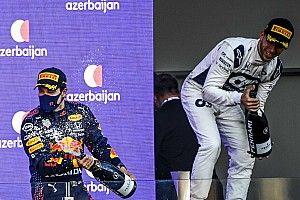 ホンダ勢3台入賞、うち2台が表彰台……田辺TD「フェルスタッペンのリタイア以外は、ホンダにとって良いレース」