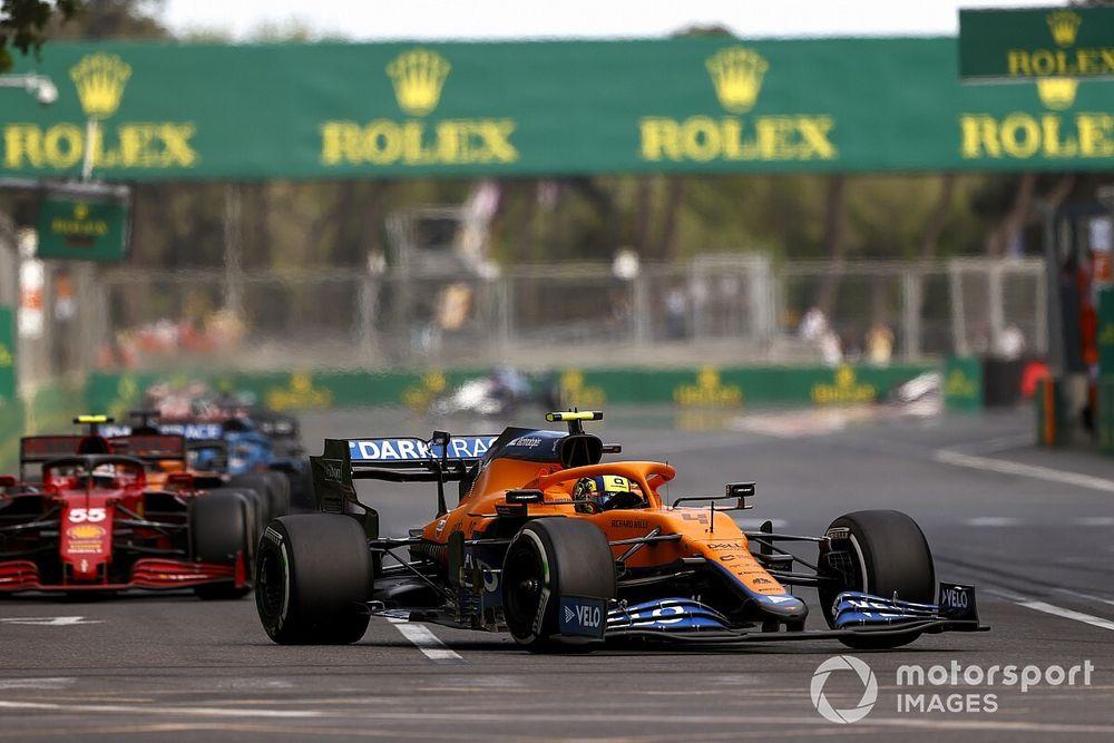 今季唯一全戦入賞中のノリス、トリッキーなレース序盤からの挽回に満足「僕らは常に上位を狙える」