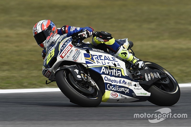 Les pilotes MotoGP s'étonnent et s'inquiètent de la pige de Ponsson