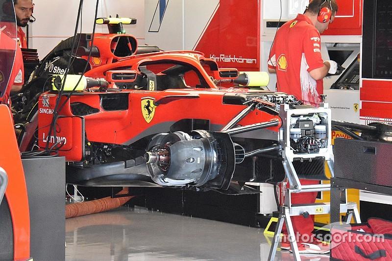 Formel-1-Technik: Detailfotos beim GP Italien in Monza