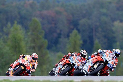 MotoGP Brünn: Dovizioso gewinnt packenden Dreikampf