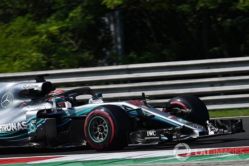 Russell termina las pruebas de Hungría como el más rápido