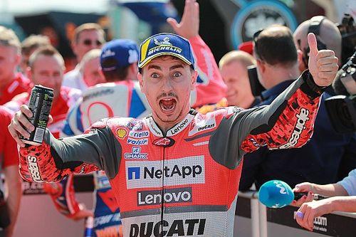 """En pole avec Ducati à Misano, Lorenzo est """"très fier"""""""