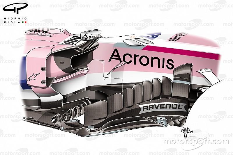 A Force India merész fejlesztései, melyeket beárnyékolt a szingapúri dráma