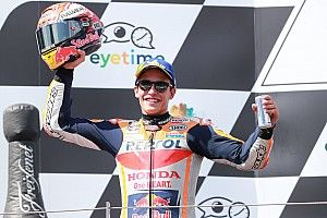 Menekan di awal, Marquez coba pisahkan Ducati