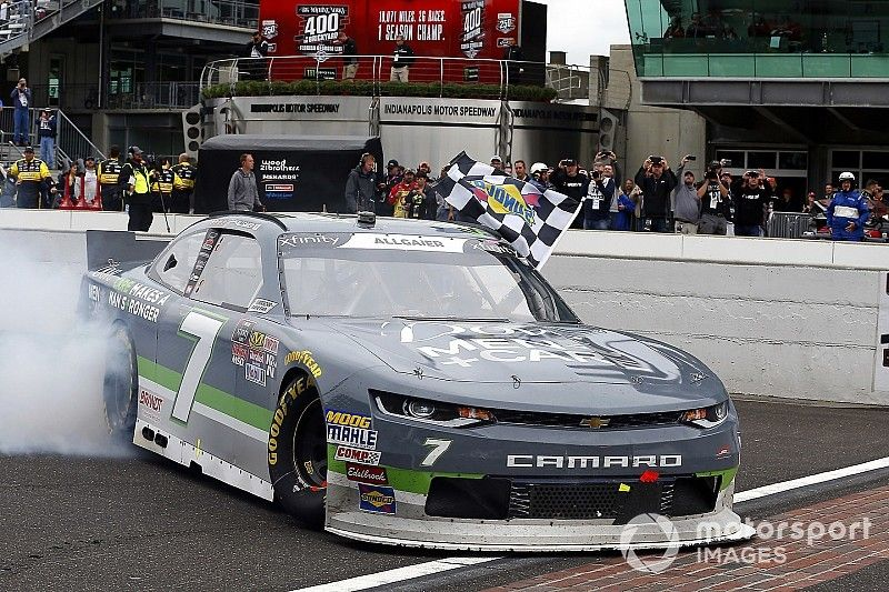 """Justin Allgaier """"was ready to leave"""" NASCAR before JRM ride"""
