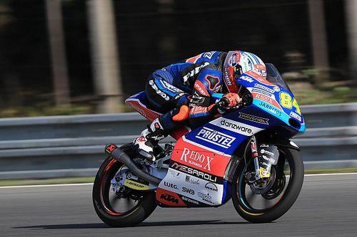 Kornfeil firma la sua prima pole di carriera nel GP di casa a Brno. Di Giannantonio, che errore!