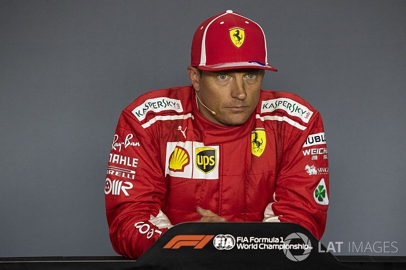 "Kimi Räikkönen élu ""Pilote du Jour"" du GP d'Italie 2018"