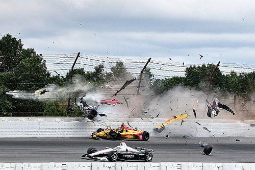 Brutális sérüléseket szenvedett a versenyző