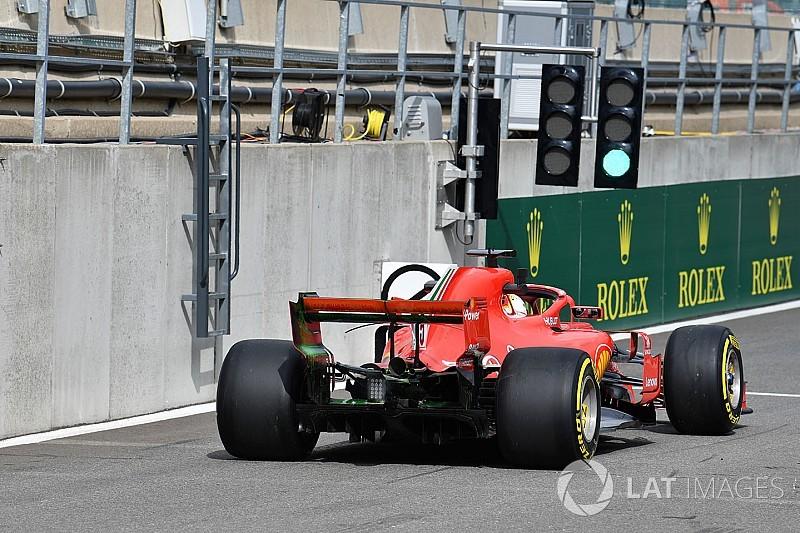 Ferrari pilotları da yeni motora geçti