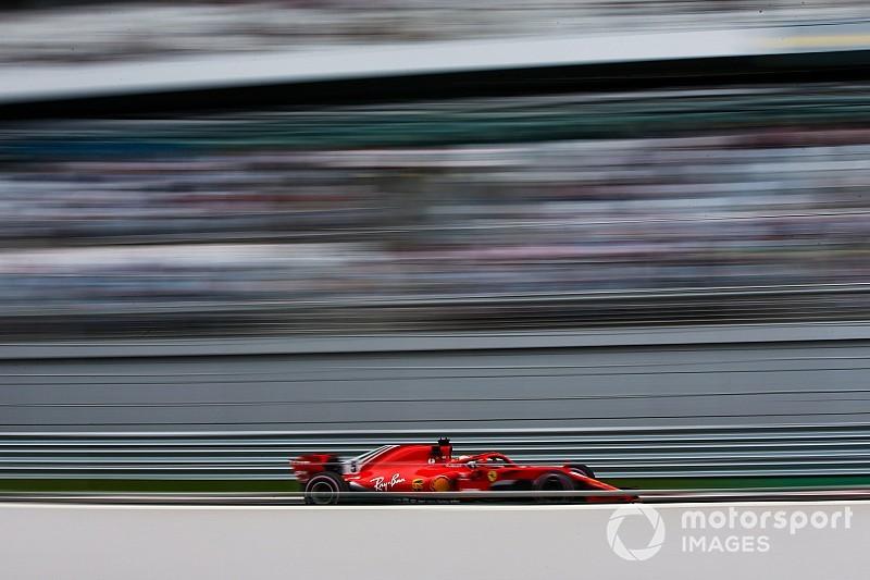 俄罗斯大奖赛FP1:维特尔一马当先,汉密尔顿尚未发力