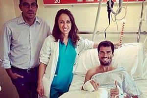 Simone Corsi operato alla mano destra dopo l'incidente in Austria. Tornerà a correre già a Silverstone