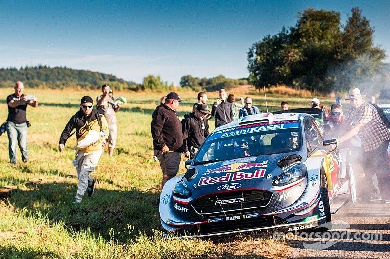 Rallye Deutschland: Ogiers Plattfuß bringt Tänak auf Siegkurs