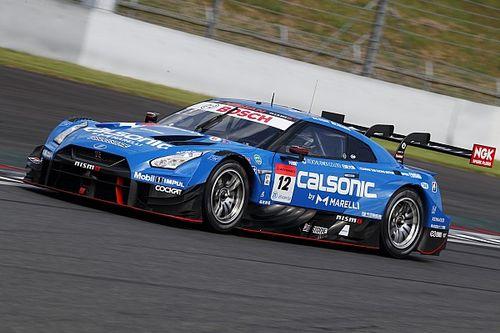 好調の12号車カルソニックGT-Rは予選2番手、佐々木「さすがに今日の8号車は速かった」