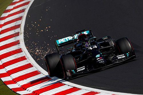 Hamilton vreest bandenslijtage in Eifel GP, Bottas viert pole