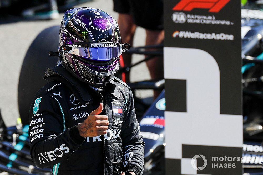 意大利大奖赛排位赛:汉密尔顿强势摘下杆位,法拉利无缘前十