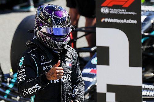 """Hamilton: """"In Pole grazie al rischio preso alla Ascari"""""""