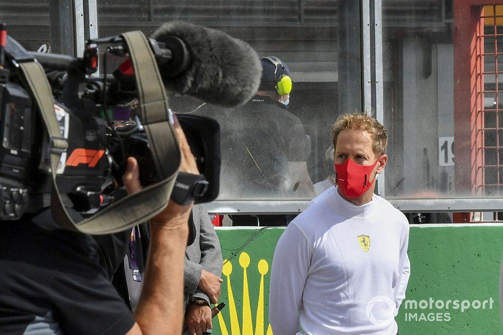 """Vettel: """"Monza senza pubblico? Un addio meno difficile!"""""""