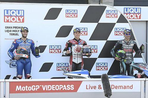 La grille de départ du Grand Prix de Teruel MotoGP