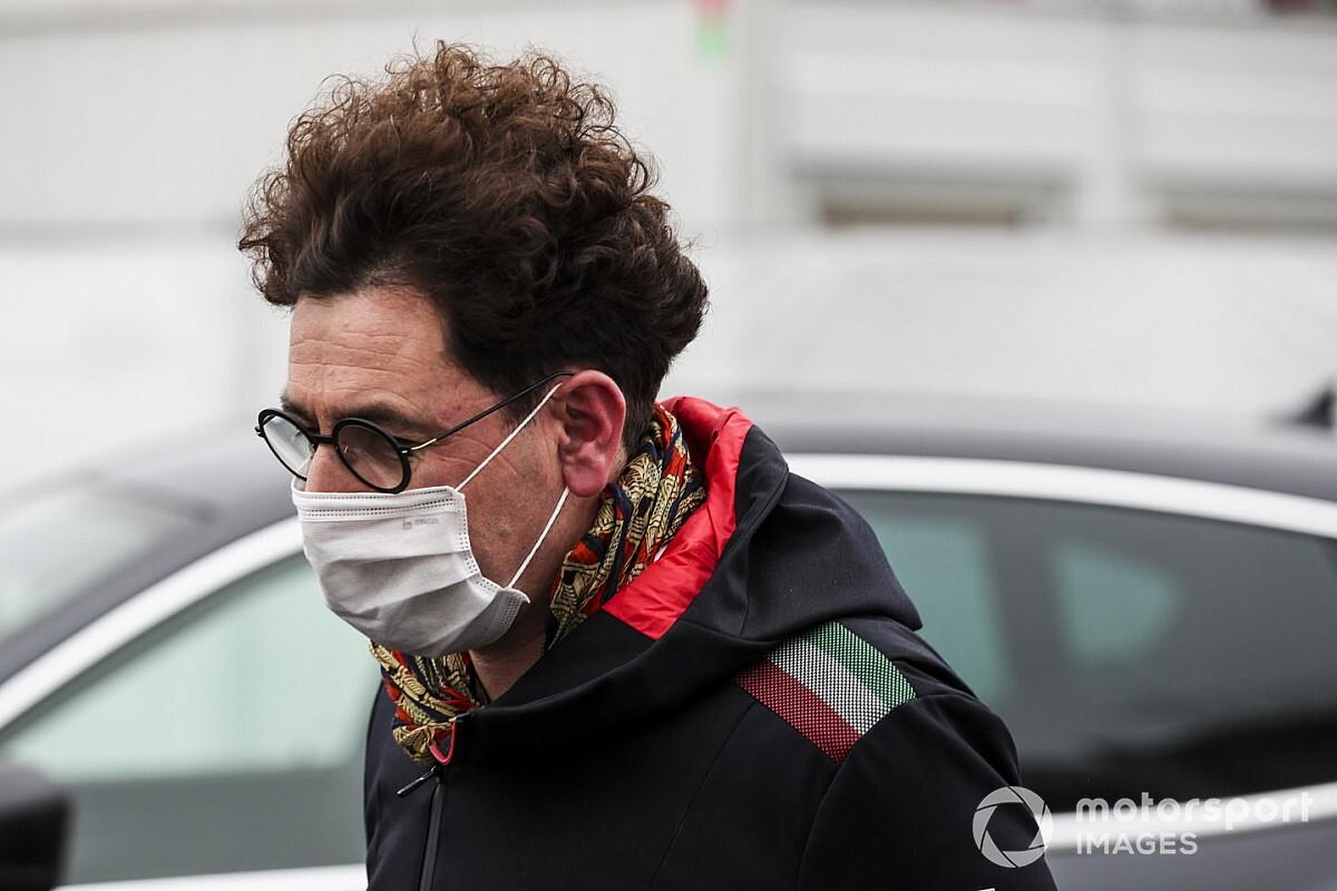 Ferrari-teambaas Binotto laat Grand Prix van Turkije schieten