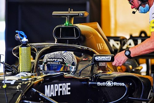Alonso sumó otros 500 kms de test con Renault F1