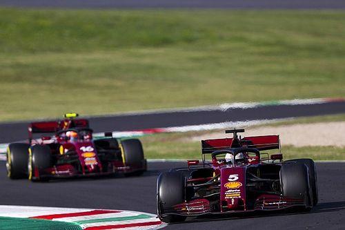 "Ferrari vertolkt bijrol op eigen F1-feestje: ""Gewoon te langzaam"""