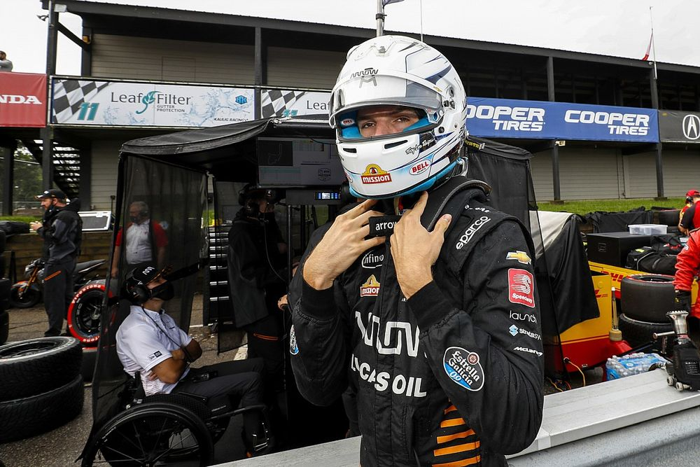 Askew is fit en mag rijden tijdens seizoensafsluiting IndyCar