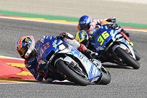 Rins verslaat Marquez in Aragon, Quartararo buiten de punten