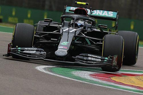 Mercedes no podía creer lo que mostraban los sensores de Bottas