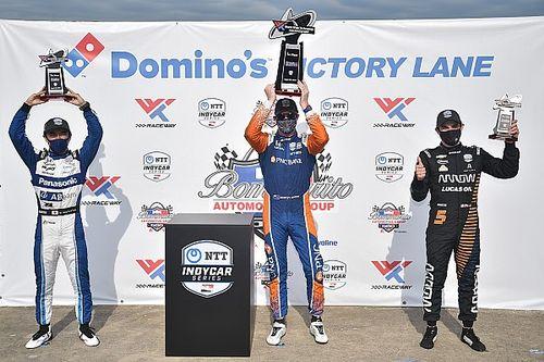 Dixon gana la primera carrera en Gateway y O'Ward con podio