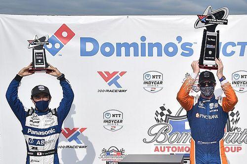 ゲートウェイ・レース1:ディクソン、インディ500の雪辱果たし、佐藤を破り優勝