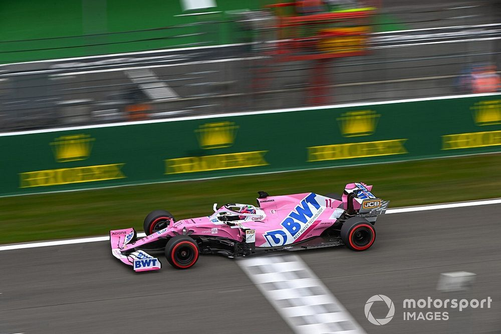 Perez, Monza'da podyum hedefliyor