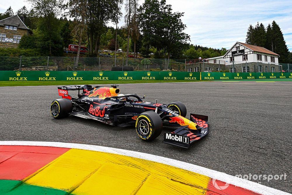 比利时大奖赛FP2:维斯塔潘领先里卡多列第一,汉密尔顿第三